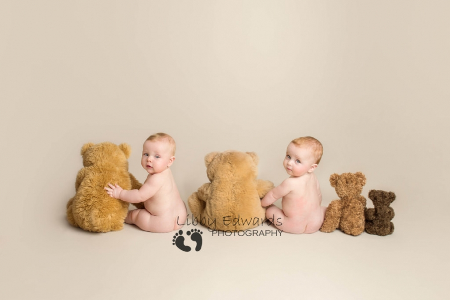 Twin baby photography Hampshire