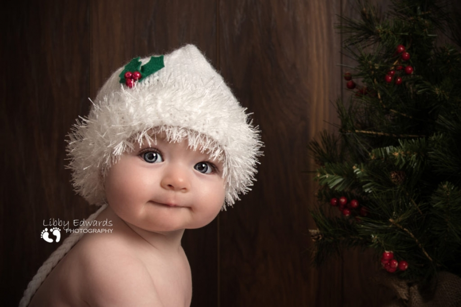 Portsmouth baby Christmas photography
